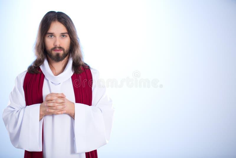 充分耶稣基督和平 库存图片