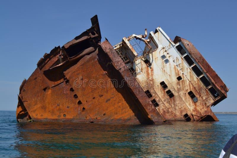 充斥在海船 免版税库存照片