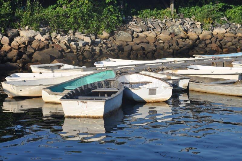 充气救生艇 库存图片