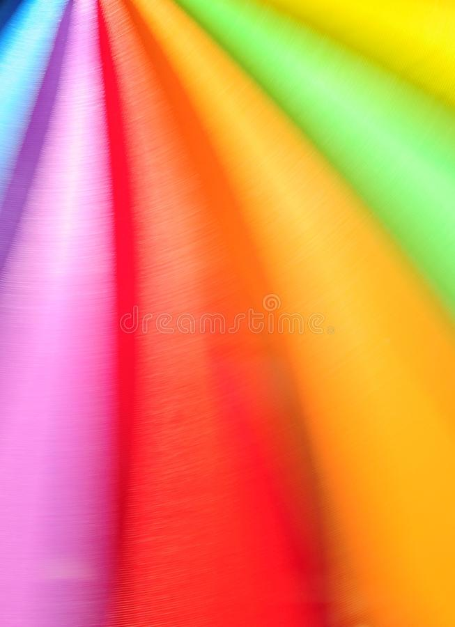 充满活力颜色的行动 图库摄影