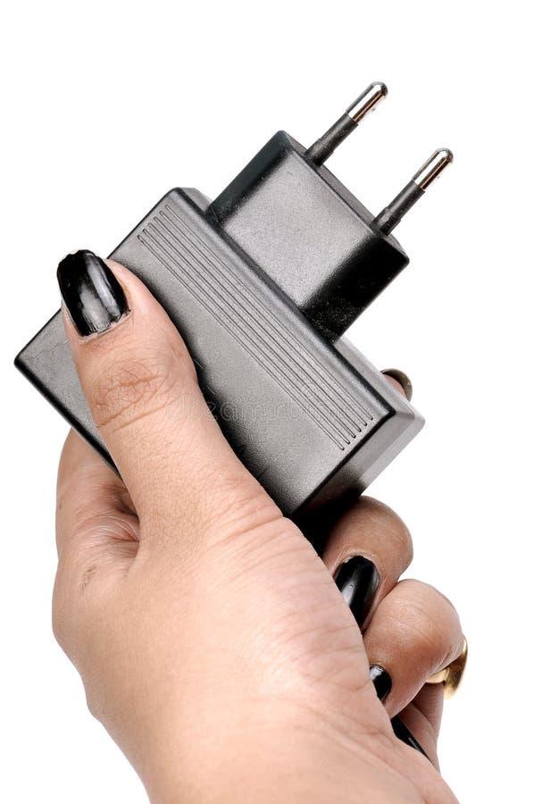 充电器插件 库存照片