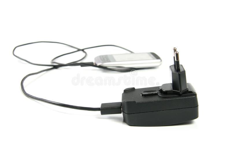 充电器移动电话 库存照片