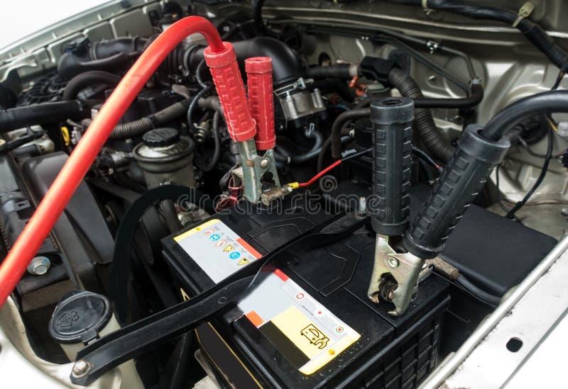 充电的汽车 免版税图库摄影