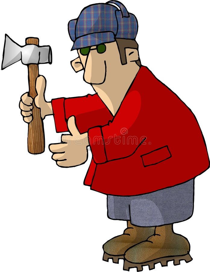 Download 兆的hurtz 库存例证. 插画 包括有 适应, 滑稽, 幽默, 农场工人, 乐趣, 柴刀, 动画片, 可笑, 美国东南部山区的农民 - 57832