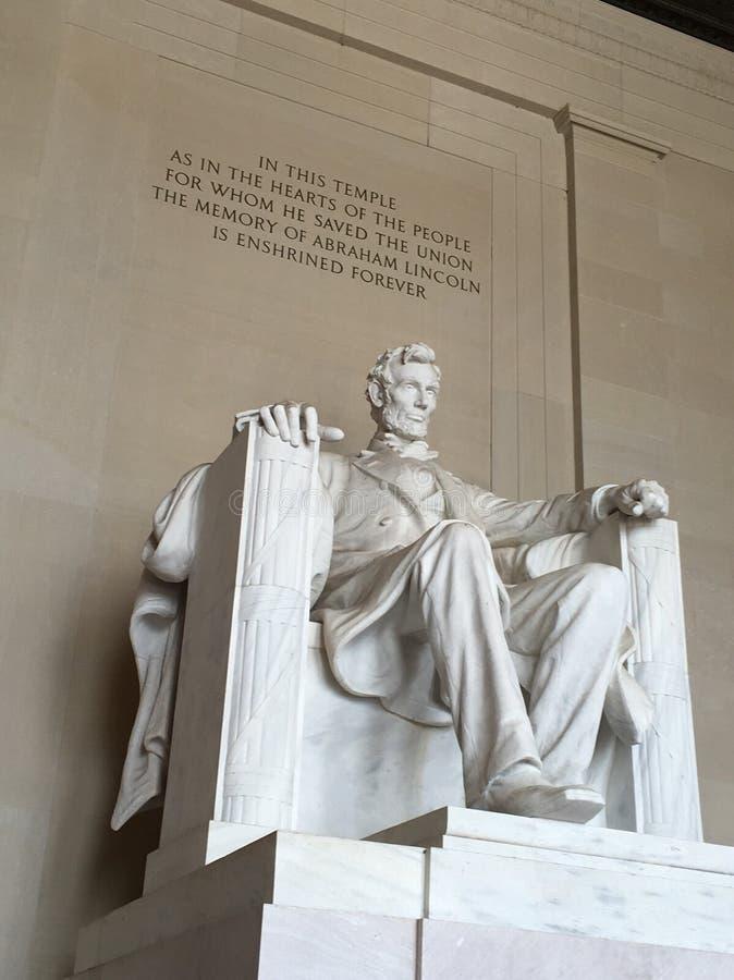 先生 林肯 免版税图库摄影
