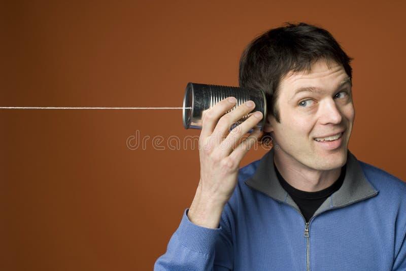 先进的电信 图库摄影