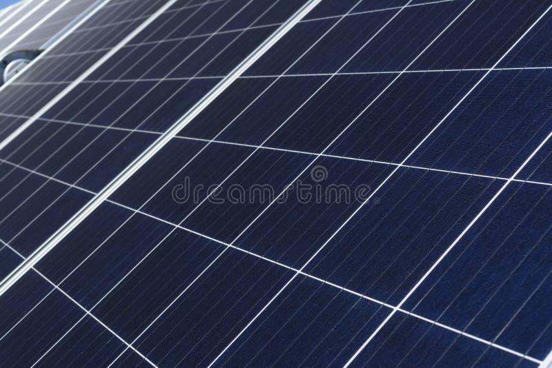 光伏太阳能板细节 库存照片