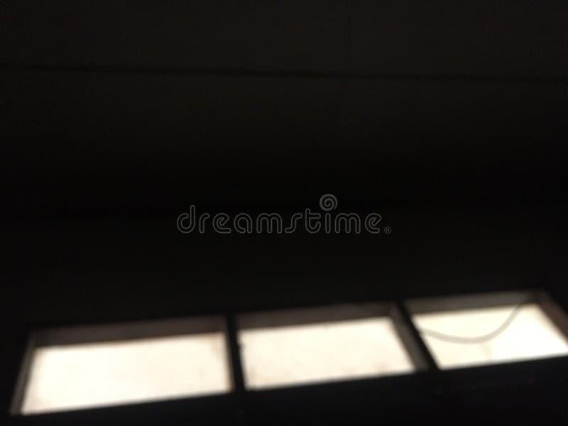 光在屋子里 免版税图库摄影