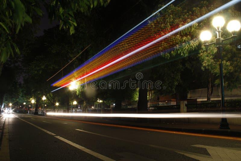 光在广州 图库摄影