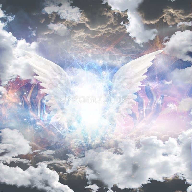 光天使  皇族释放例证