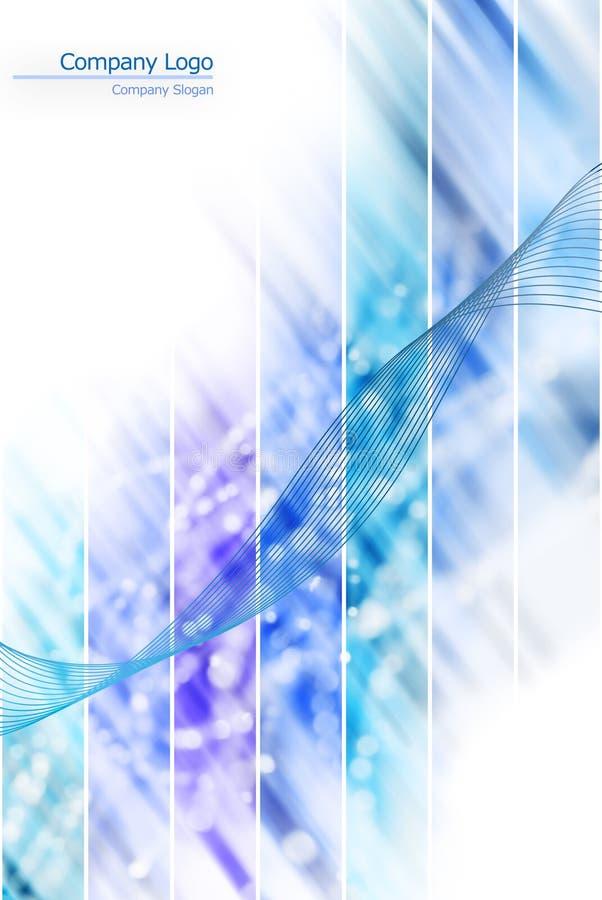 光学抽象的纤维 向量例证