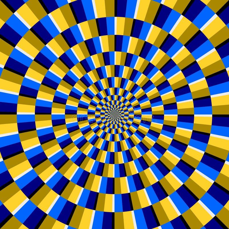 光学的幻觉 皇族释放例证