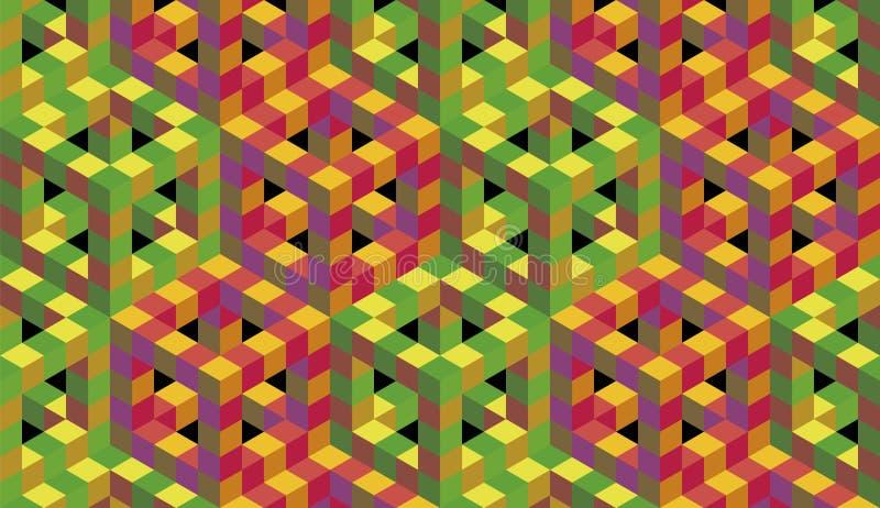 光学的艺术 库存例证
