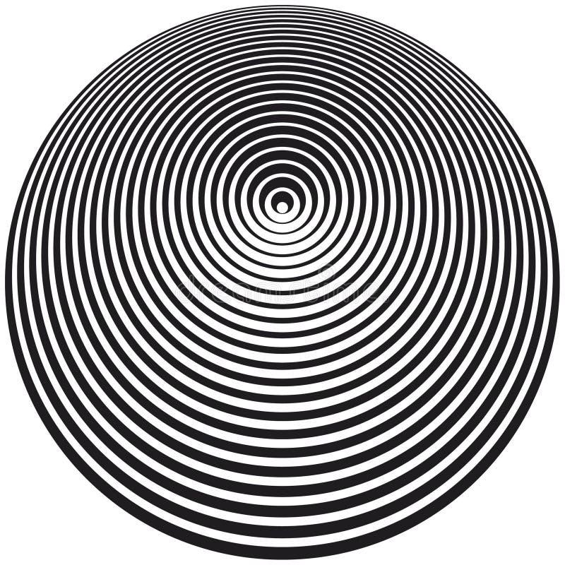 光学艺术 向量例证