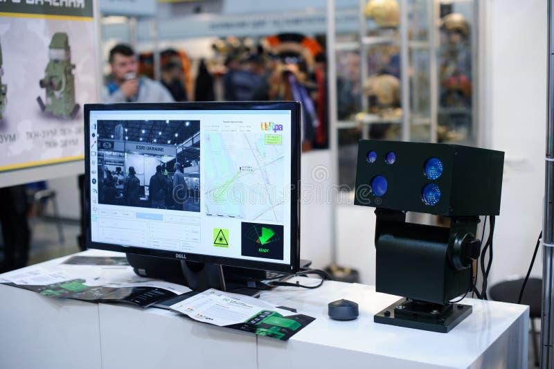 光学观察复合体包括夜视设备和热象仪 库存图片