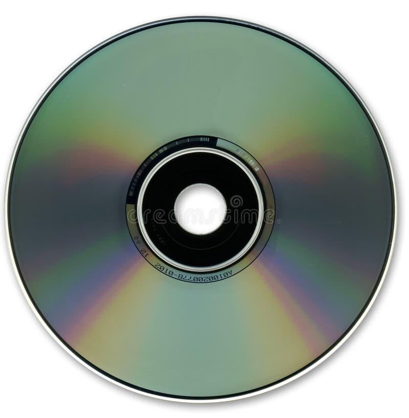 光学CD的光盘的格式 免版税库存照片
