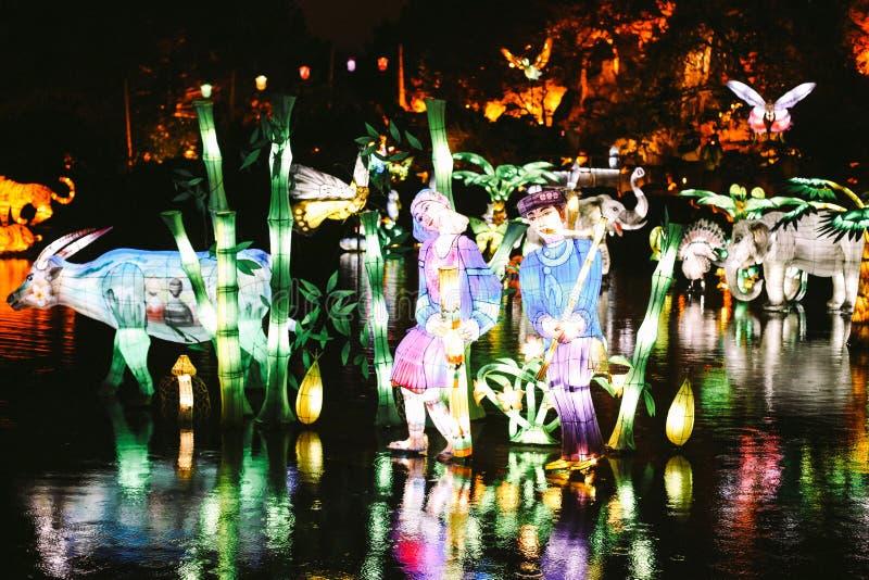 光庭院在蒙特利尔 库存照片