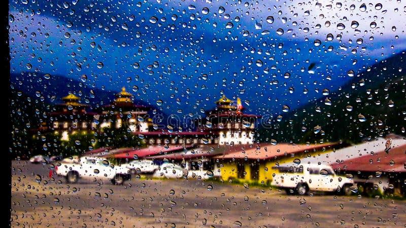 光彩的宗教堡垒  图库摄影