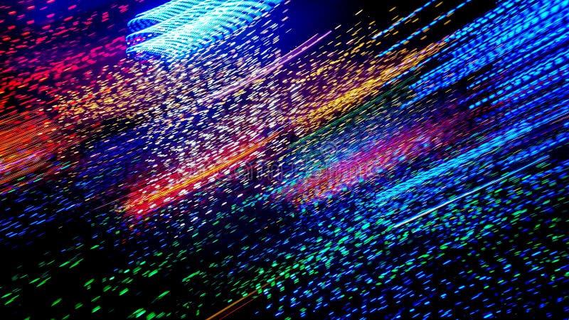 光抽象条纹  库存图片