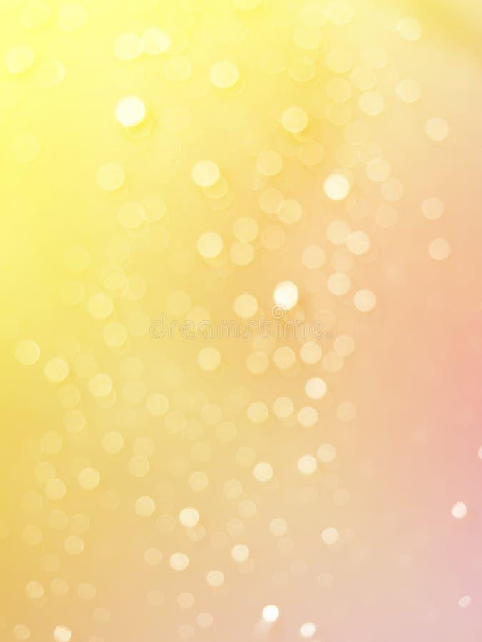 光抽象照片破裂了雨珠并且闪烁bokeh光背景 向量例证