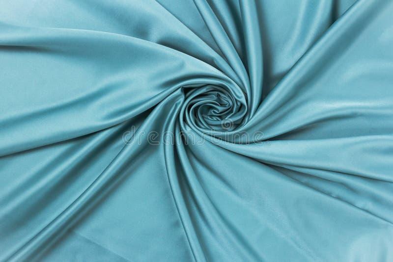 光滑的典雅的丝绸或缎豪华布料纹理可能使用作为抽象背景 库存照片