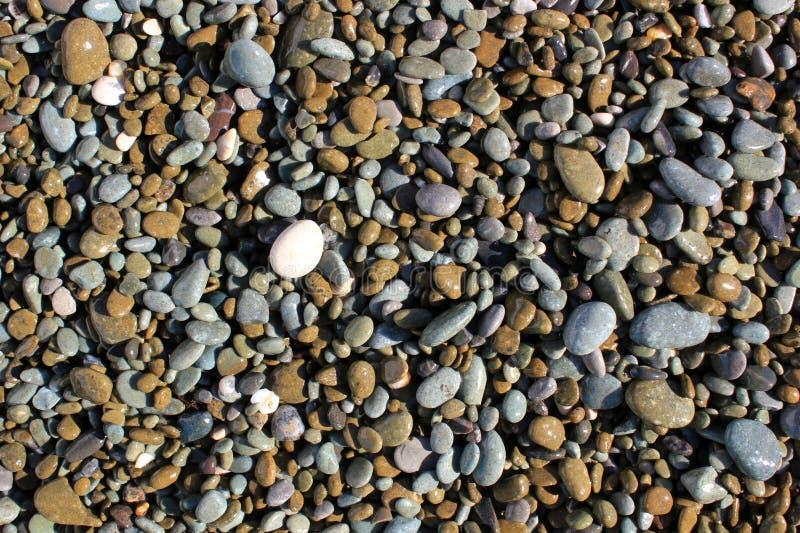 光滑的石头背景 库存照片