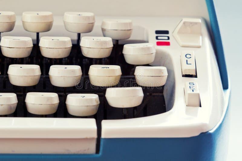 光环匠打字机 免版税图库摄影