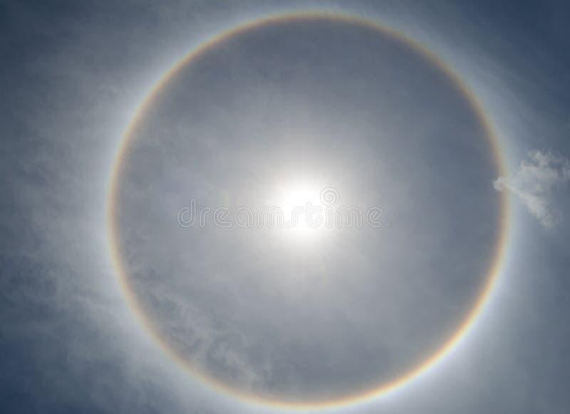 光环太阳 库存照片