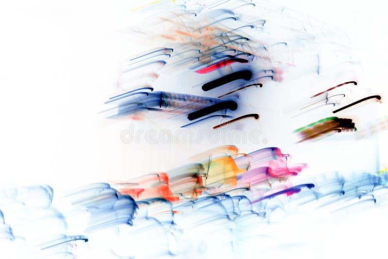 光的抽象图象 免版税库存照片