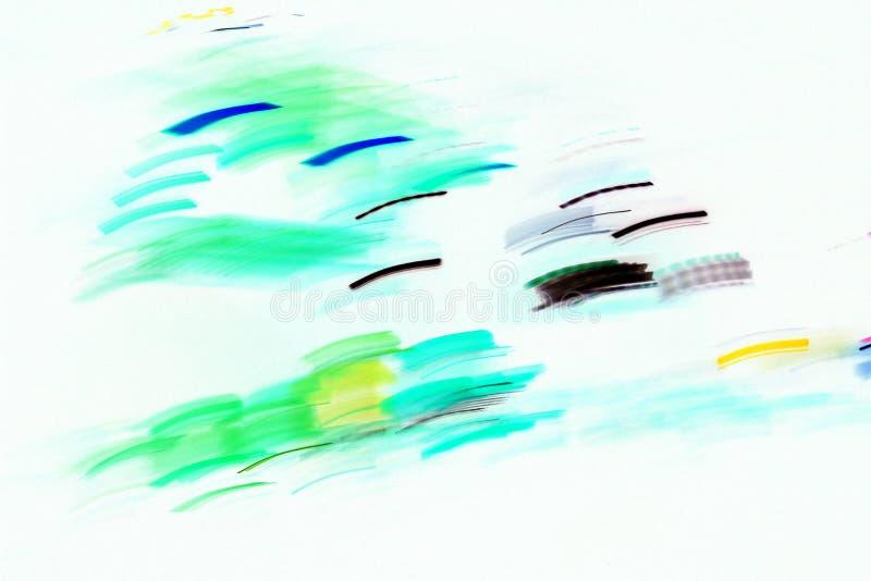 光的抽象图象 免版税库存图片