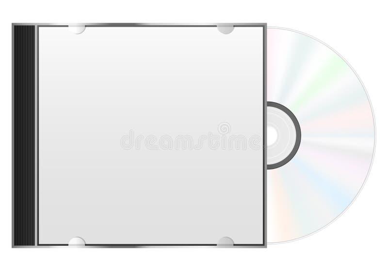 光盘盒 库存例证