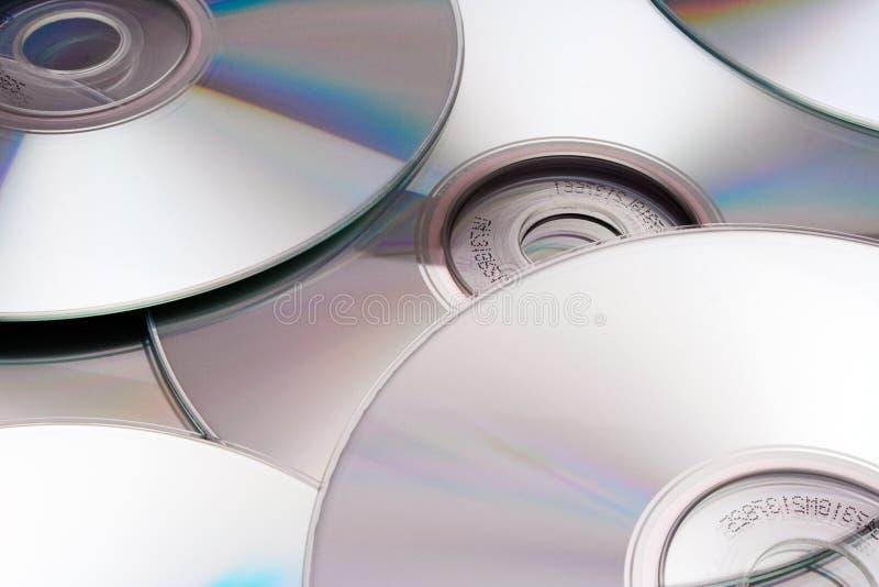 光盘银色纹理 免版税库存图片