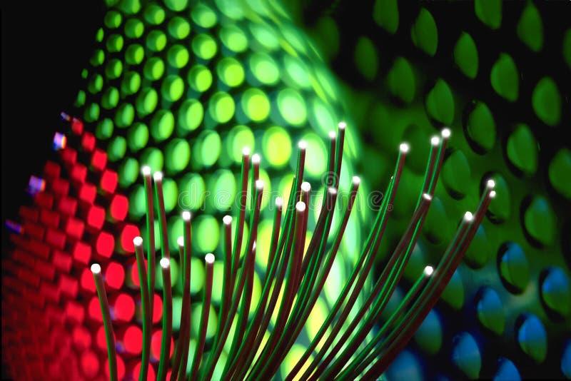 光纤技术 免版税图库摄影