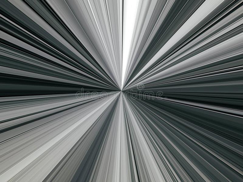 光芒多彩多姿的线的抽象图象在空间的 皇族释放例证