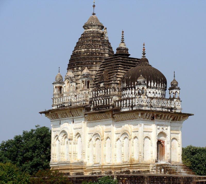 克久拉霍寺庙,印度 图库摄影