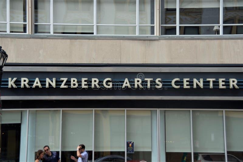 克兰茨贝格艺术中心,圣路易斯,密苏里 图库摄影