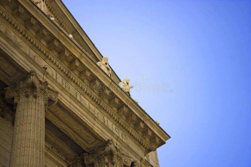 克利夫兰法院大楼 库存照片