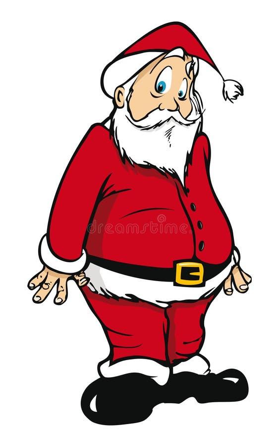 克劳斯・圣诞老人惊奇 库存例证