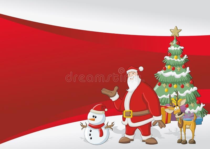克劳斯・圣诞老人 皇族释放例证