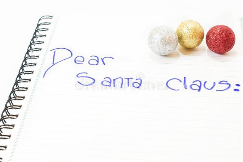 克劳斯亲爱的圣诞老人 库存图片