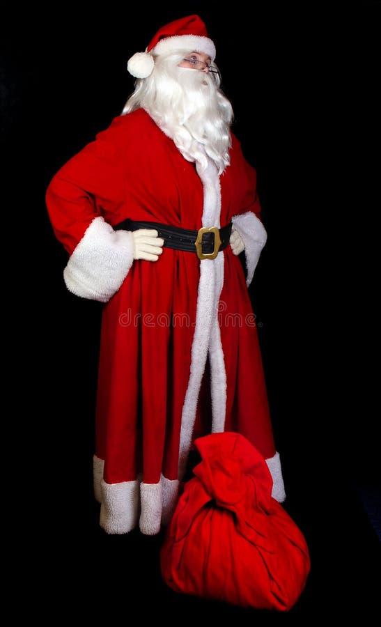 克劳斯液囊圣诞老人 库存图片