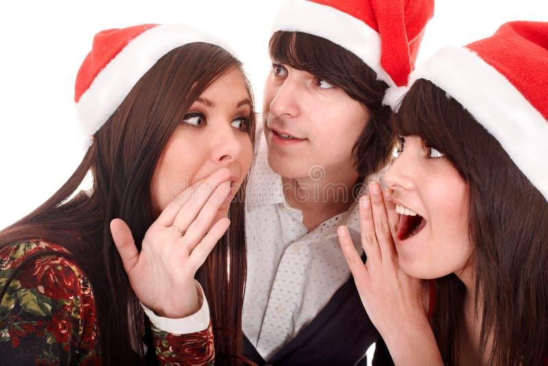 克劳斯组人圣诞老人 免版税库存图片