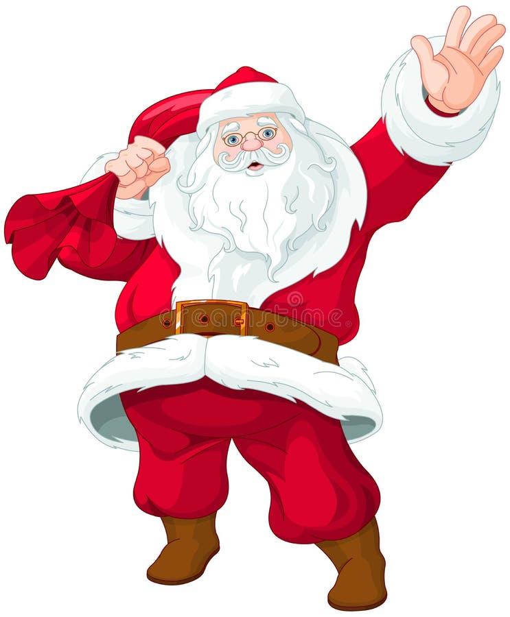 克劳斯・圣诞老人 向量例证