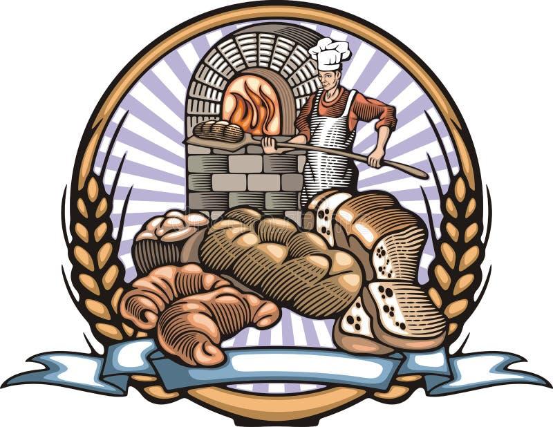 Download 贝克在木刻样式的传染媒介例证 向量例证. 插画 包括有 烹饪, 食物, 射击, 例证, 帽子, 有阳台, 谷物 - 51375348