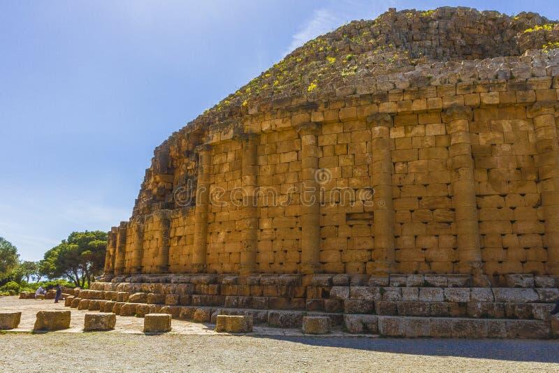 克娄巴特拉・塞勒涅二世坟茔 库存照片