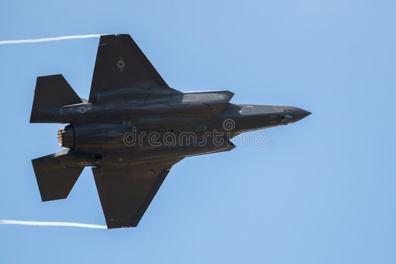 洛克希德F-35喷气式歼击机 库存照片