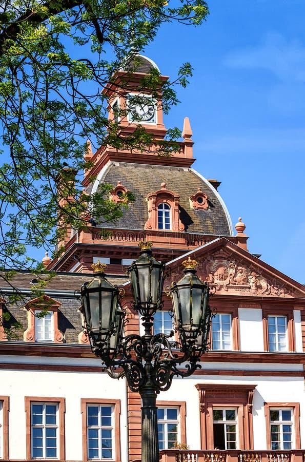 巴洛克式的Phillipsruhe城堡在哈瑙,德国 免版税库存图片