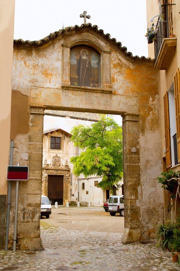克拉拉・ convento de majorca palma圣诞老人 免版税库存图片