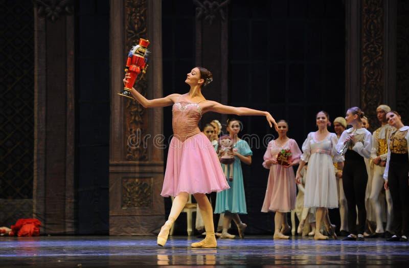 克拉拉喜爱这芭蕾胡桃钳 免版税库存图片