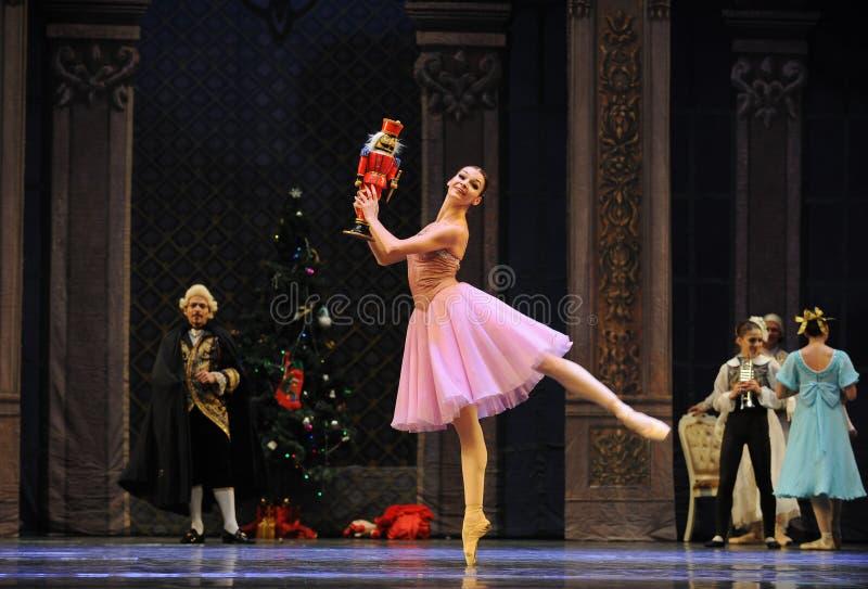 克拉拉的新的喜爱这芭蕾胡桃钳 免版税库存图片